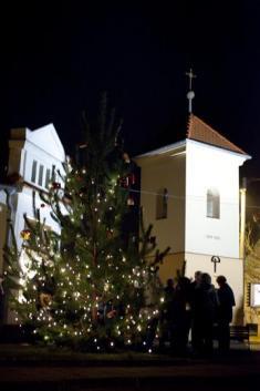 Rozsvěcení vánočního stromu 2011